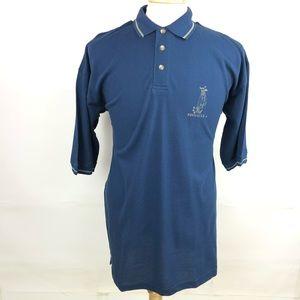 Pinnacle Vintage Short Sleeve Mens Golf Polo